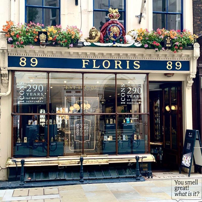 Floris of London : shopping royal à Londres