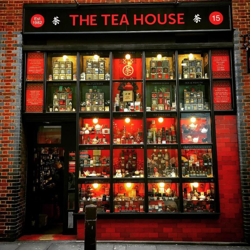 Tea house London