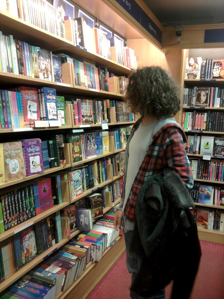 Une librairie anglaise à Paris