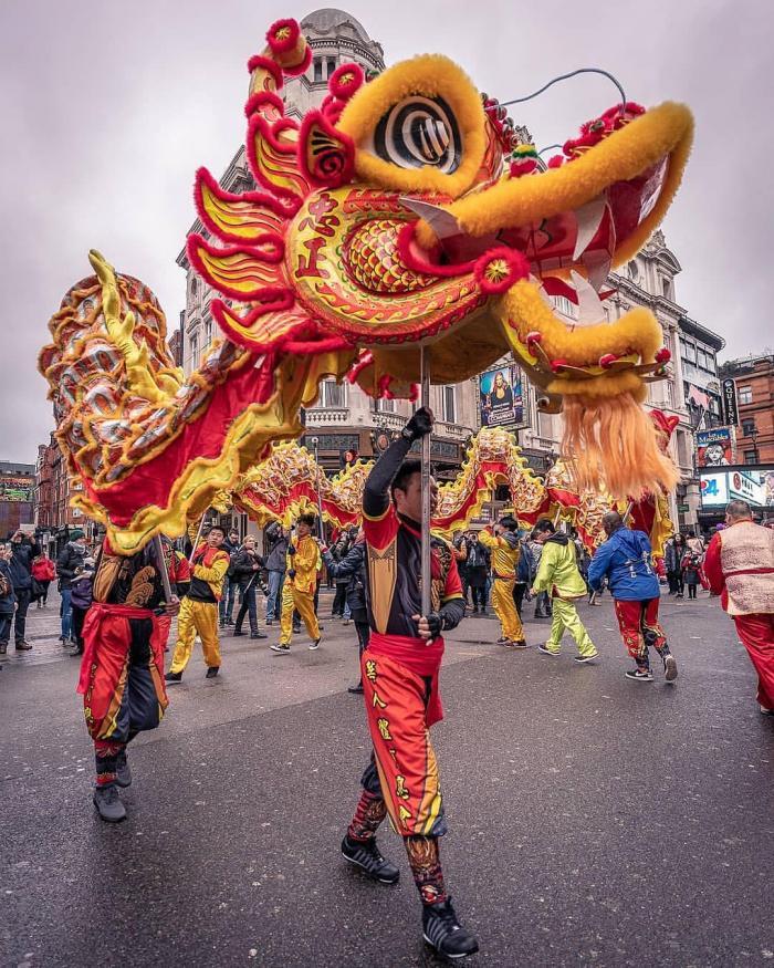Le Nouvel An chinois à Londres