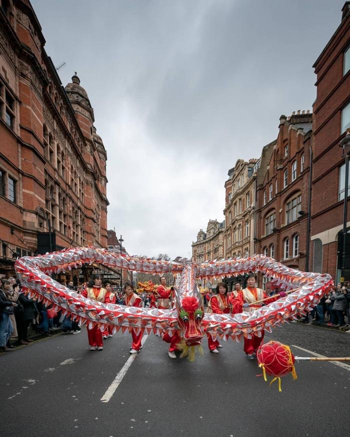 Le Nouvel An Chinois 2020 à Londres