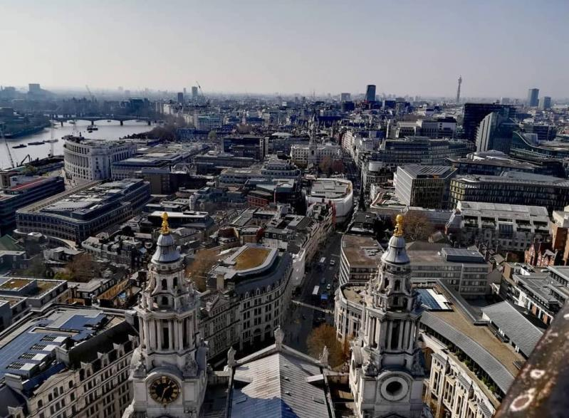 Et si on grimpait les 520 marches de St Paul's Cathedral ?
