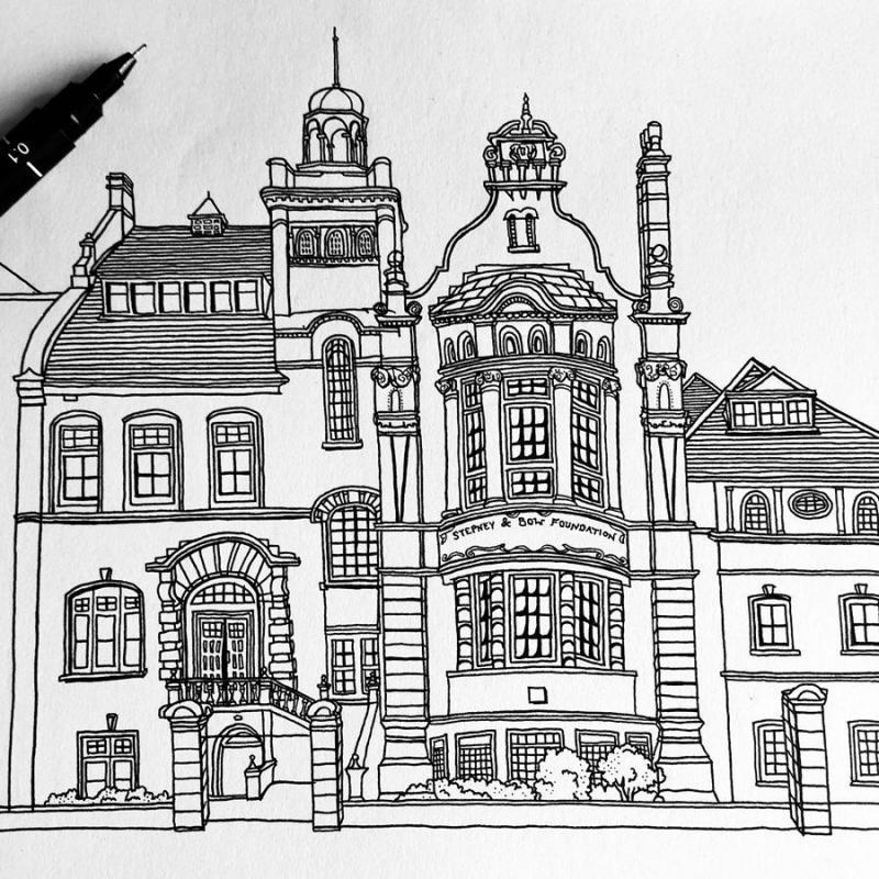 Illustrateurs à Londres
