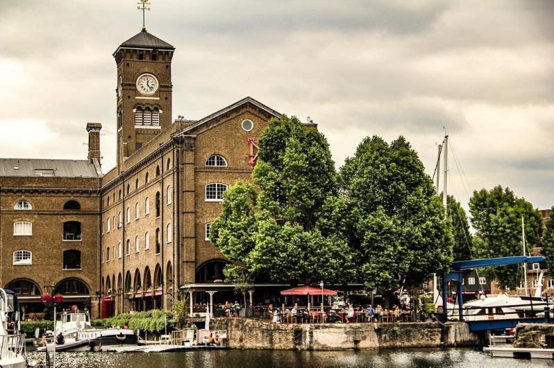 Se poser à St Katharine Docks