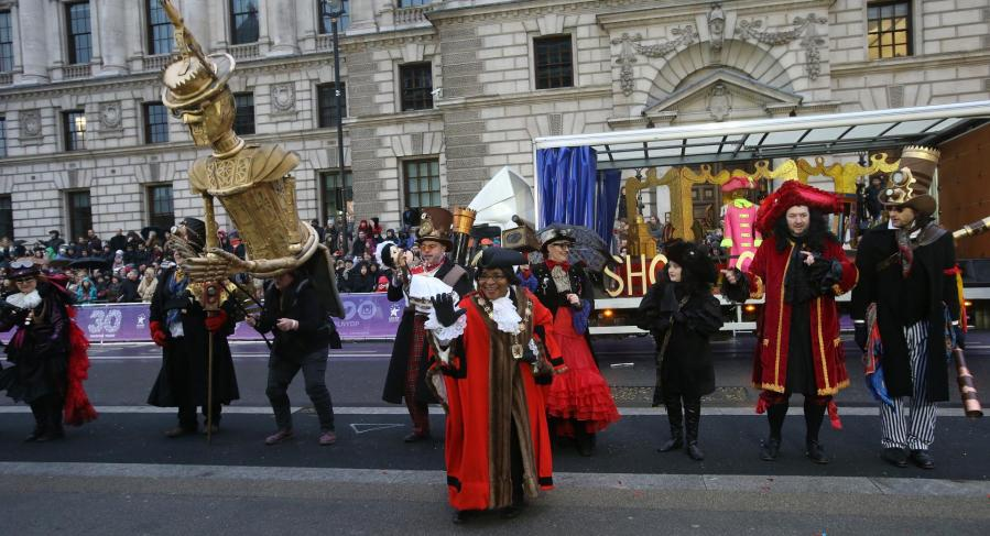 Parade de Nouvel an à Londres