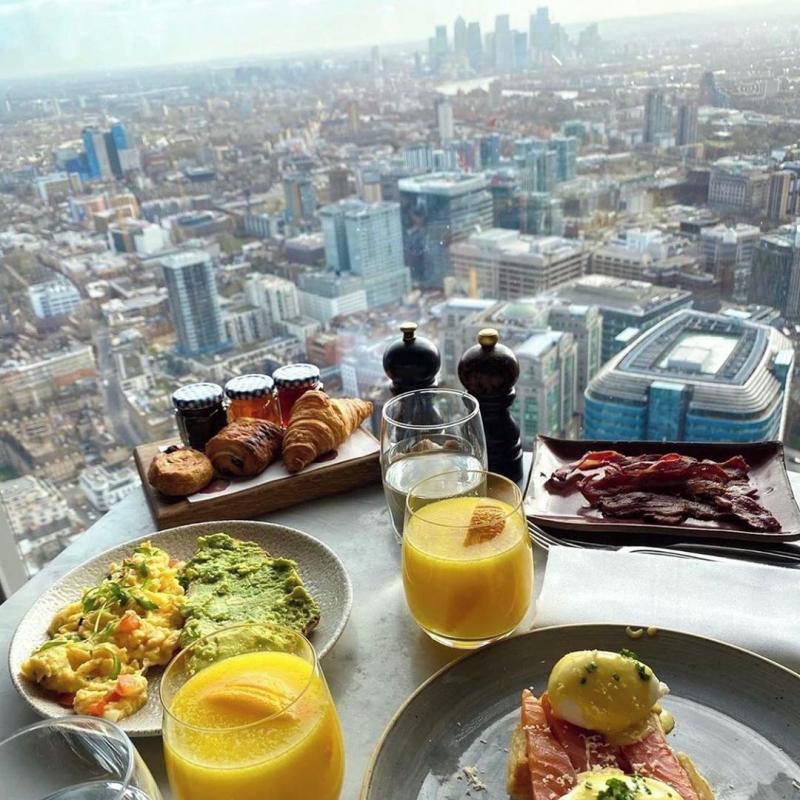 Restaurant avec vue : Duck and Waffle