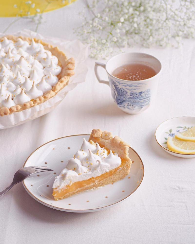 Ma recette de lemon meringue pie