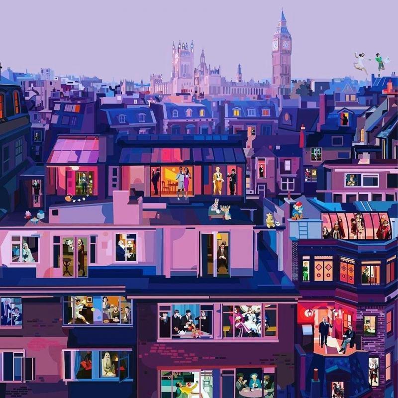 Londres et le thé