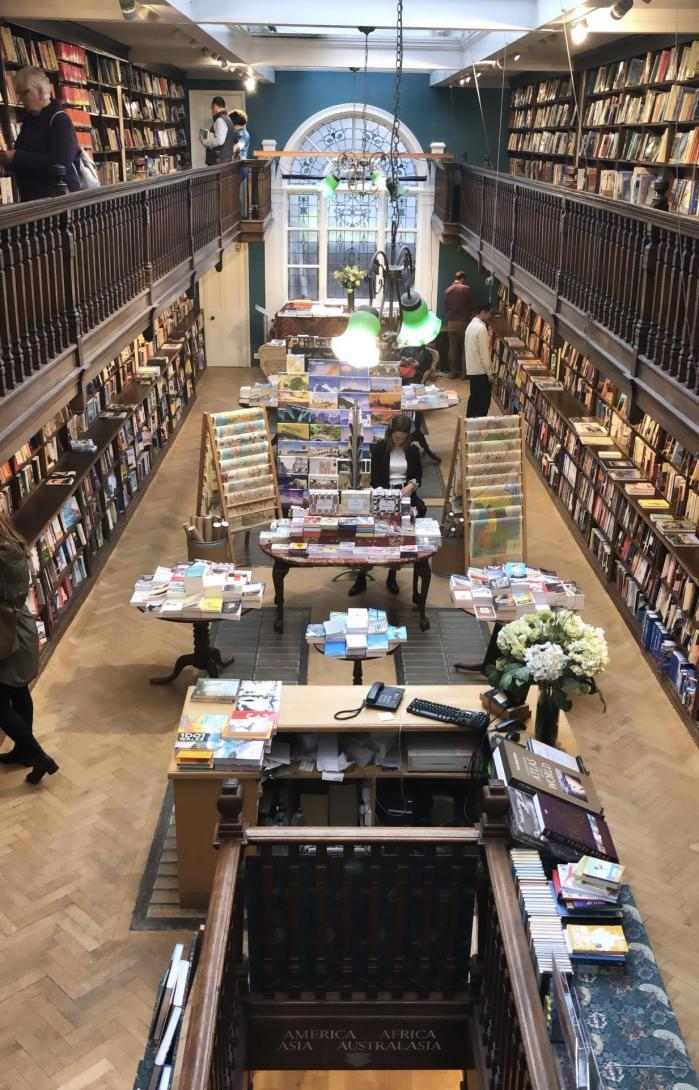 Daunt Books, la plus belle librairie de Londres