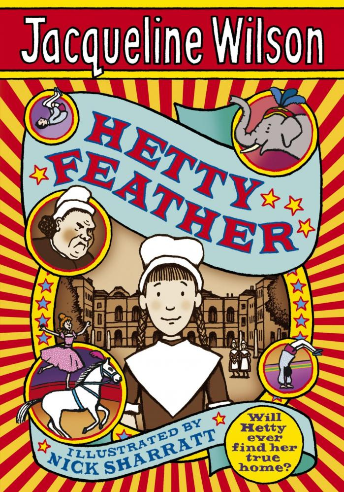 Cover of hetty feather by jacqueline wilson