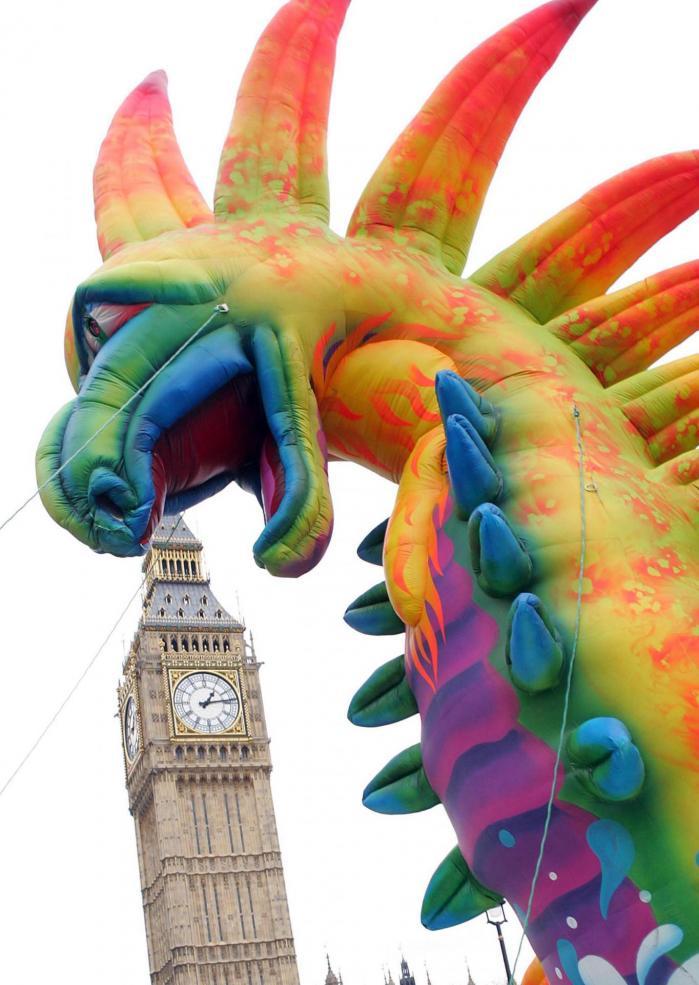 Parade de Nouvel an à Londres