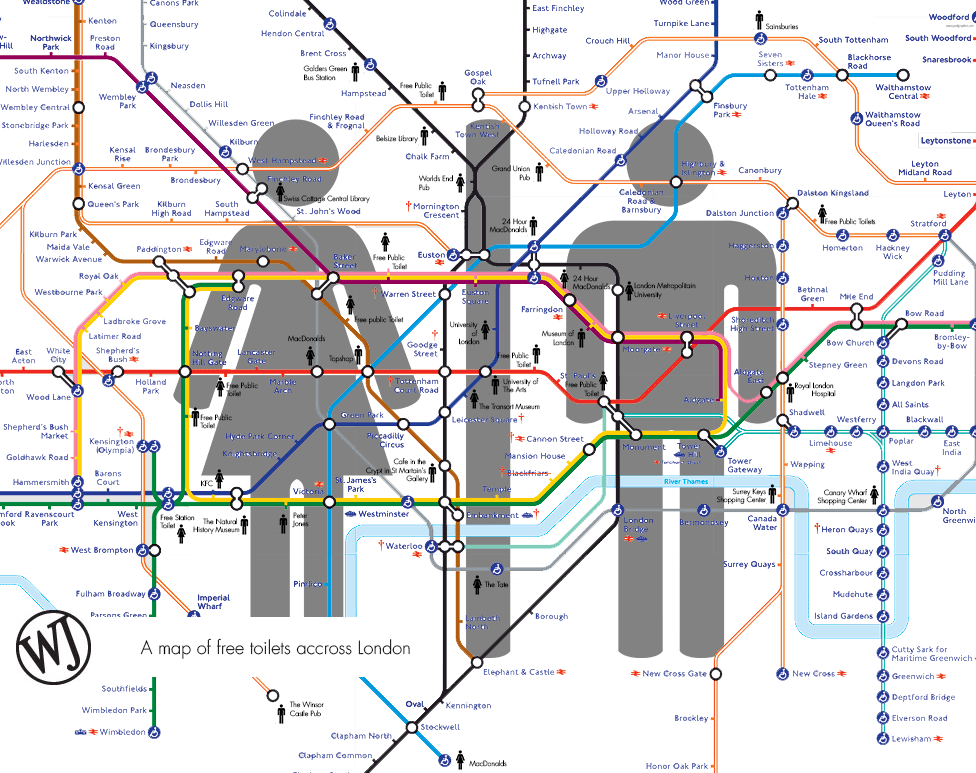 Free toilet tube map 2