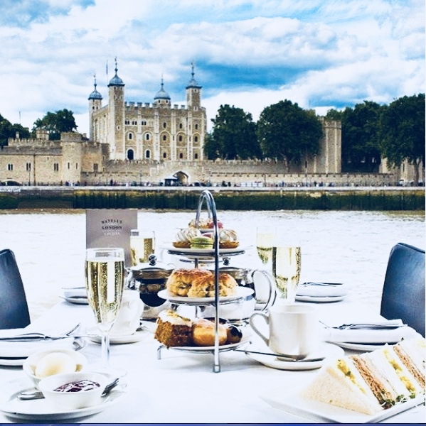 Bateaux London Afternoon Tea