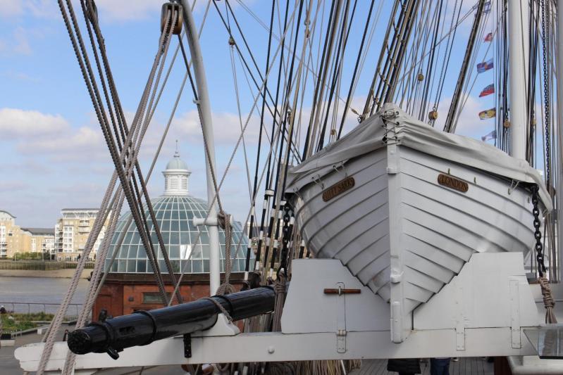 Prendre la large à Greenwich à bord du Cutty Sark !
