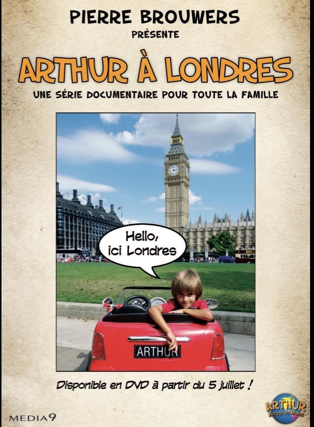 Arthur à Londres DVD