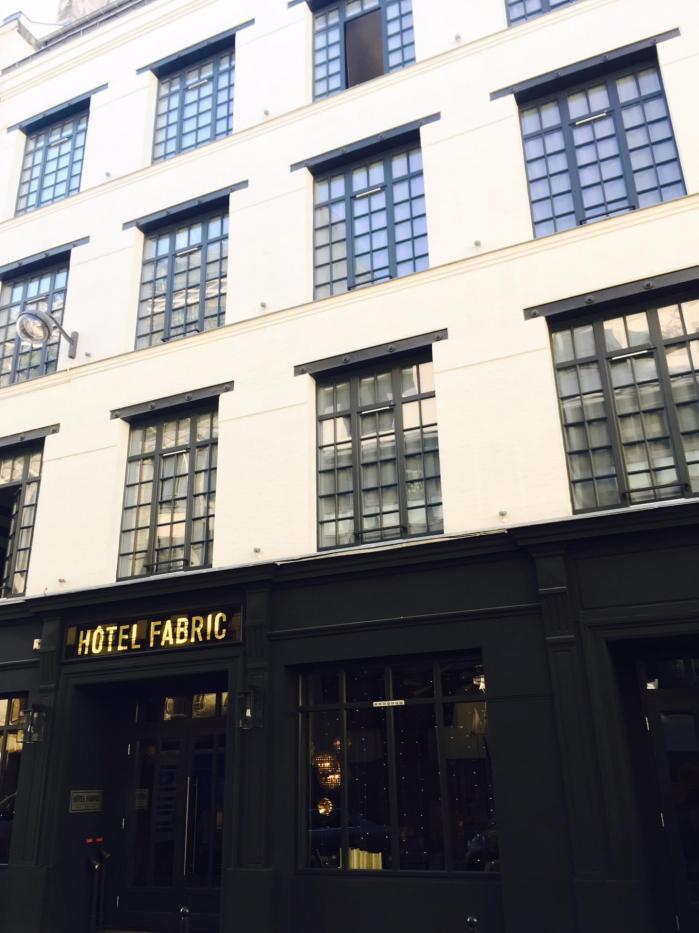 Hotel Fabric Paris avis