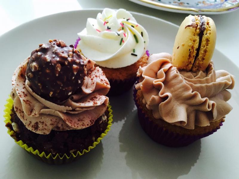 cupcakes pour remonter le moral ;-)