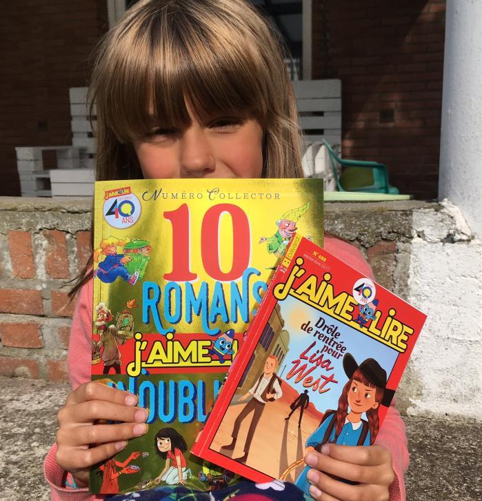 week-end lecture #152 :  J'aime lire publie un hors-série collector