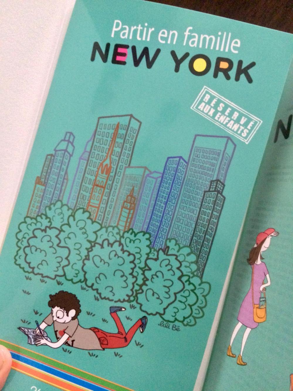 Partir en famille à New York (livret de jeux)