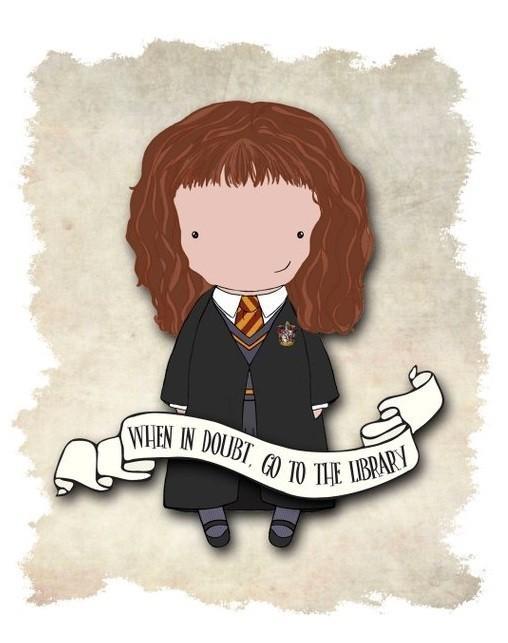 Hermione quote print