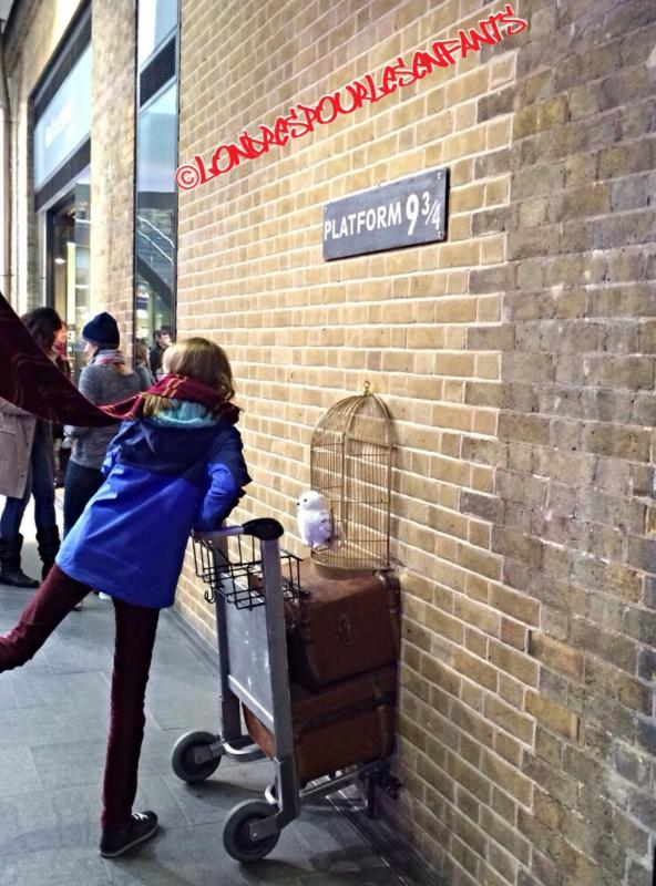 La boutique harry potter la gare de king 39 s cross - Gare king cross londres ...
