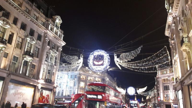 Les Lumières de Noël à Londres