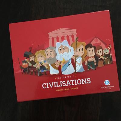 coffret civilisations Quelle Histoire