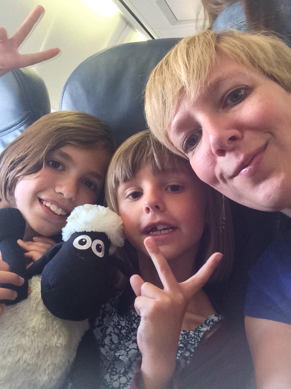 Shaun le mouton prend l'avion!