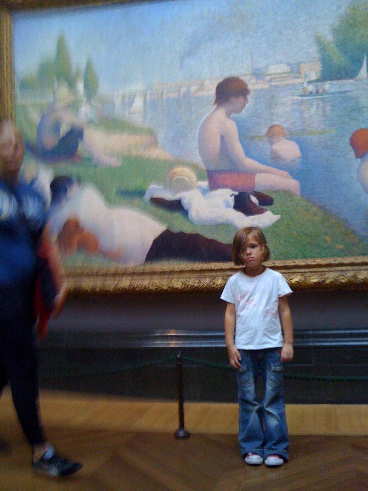 Bouder à la National Gallery