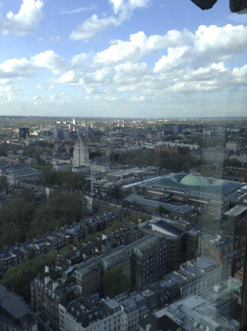 the view from Centre Point