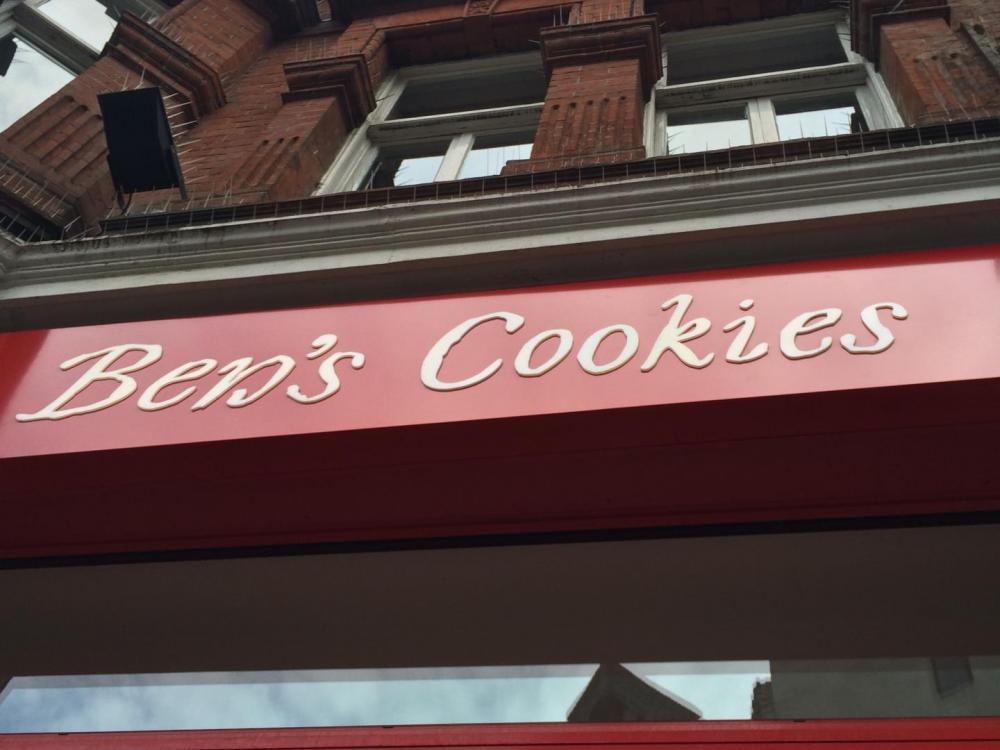 ben's Cookies Carnaby Street
