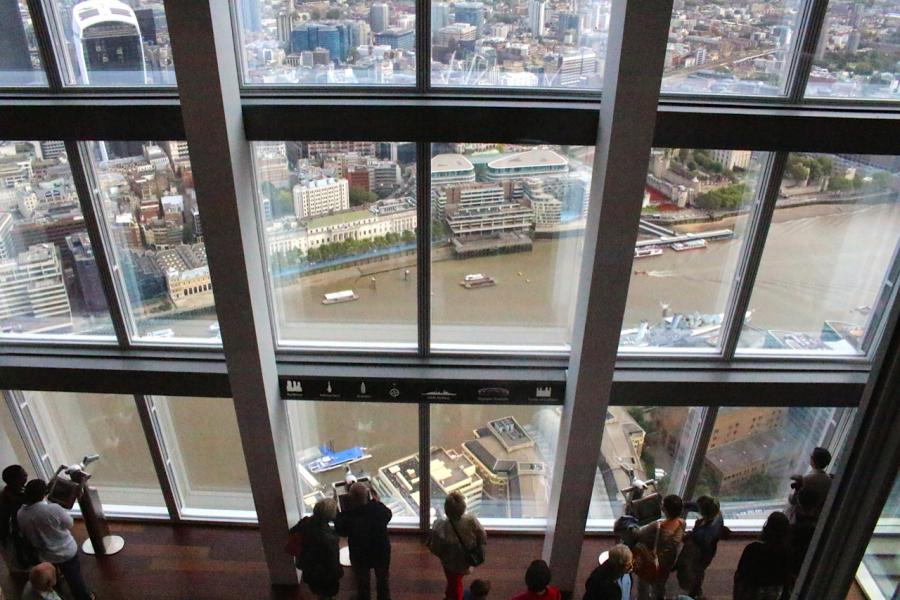Londres (view from the Shard)