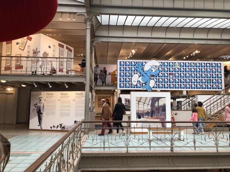 Le CBBD à Bruxelles : le lieu de célébration de la Bande Dessinée