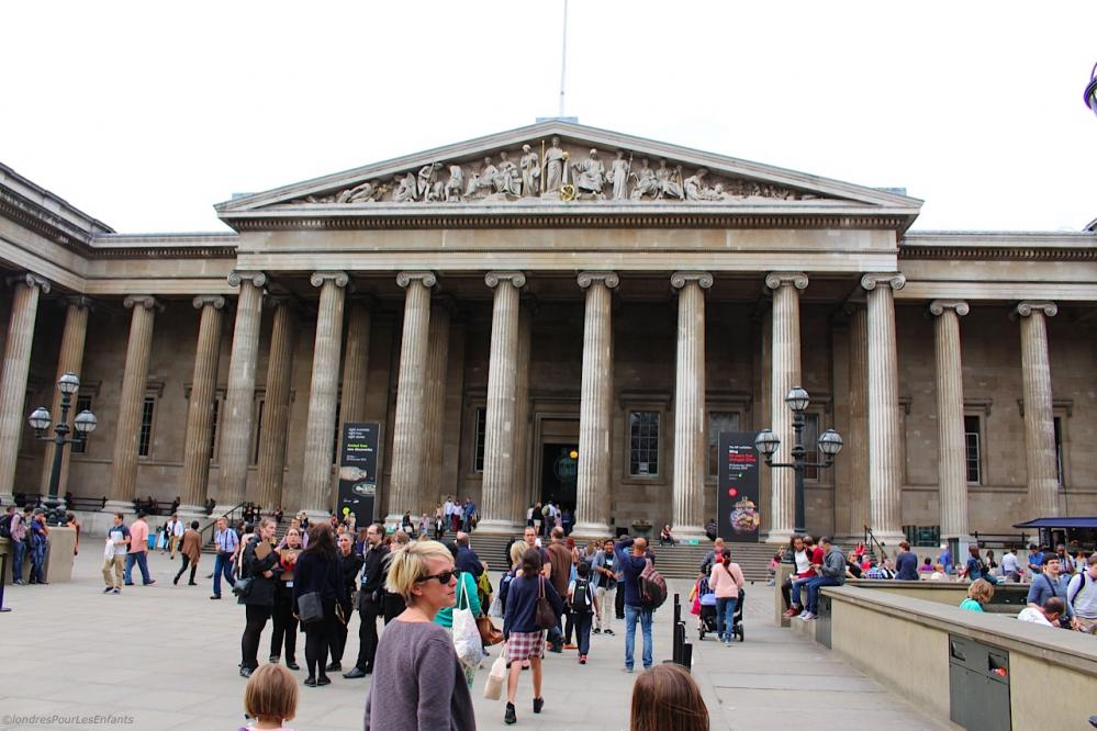 British Museum London for Kids