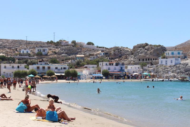 Croisière d'une journée sur la Mer Egée : Pserimos, Kalymnos, et Plati