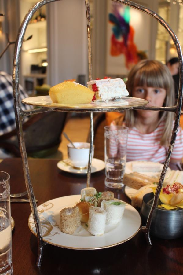 l'afternoon tea au Mandarin Oriental Hyde Park avec les enfants !