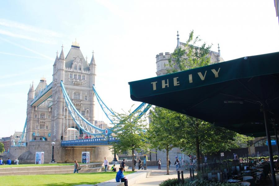 Ivy Tower Bridge review Breakfast with Kids