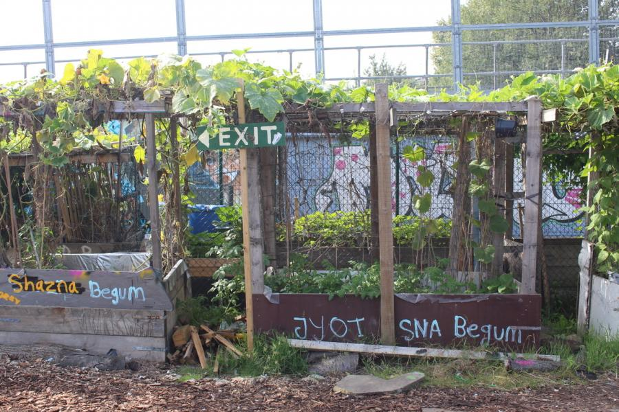 The Nomadic Community Gardens of Brick Lane