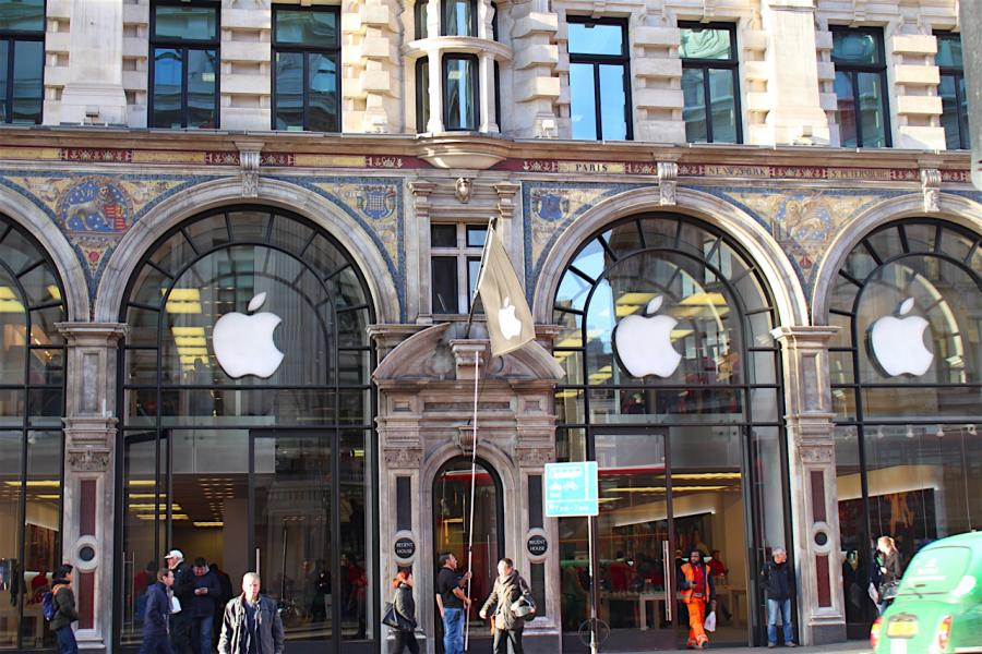 Shopping à Londres: Apple Store