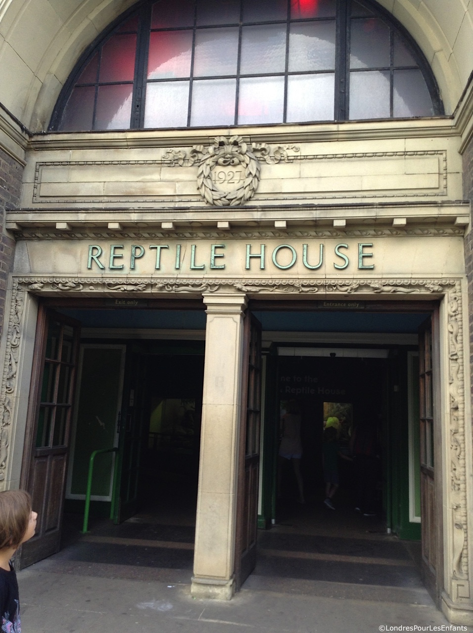 The Reptile House, London Zoo