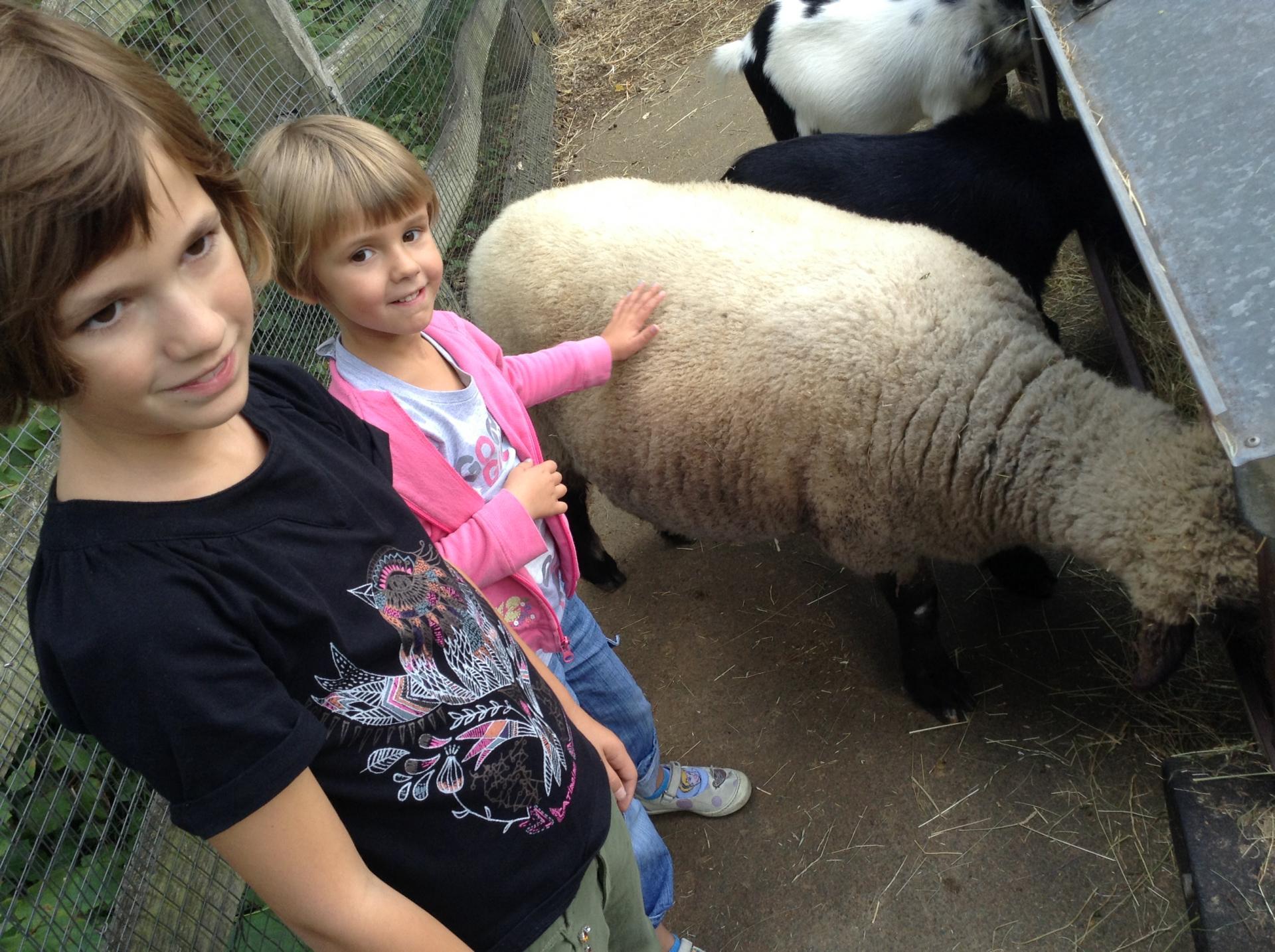 London Zoo with kids