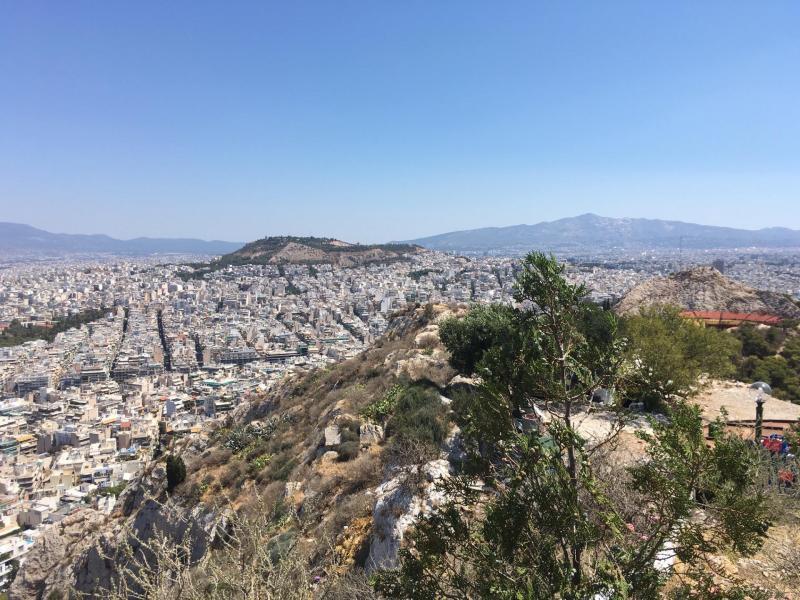 Le Mont Lycabette { Athènes avec les enfants }