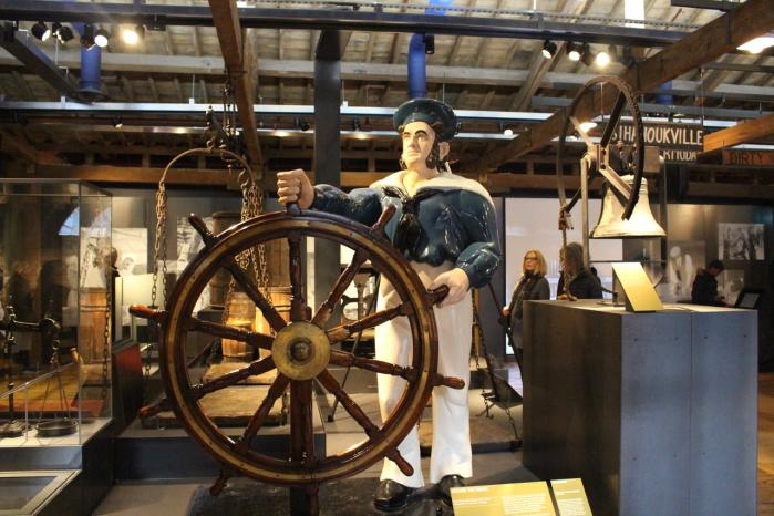 Le Museum of London Docklands