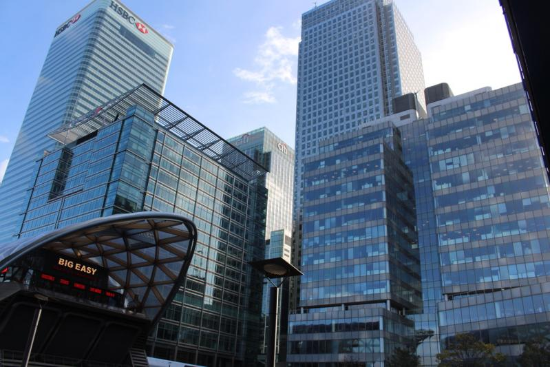 Balade à Canary Wharf