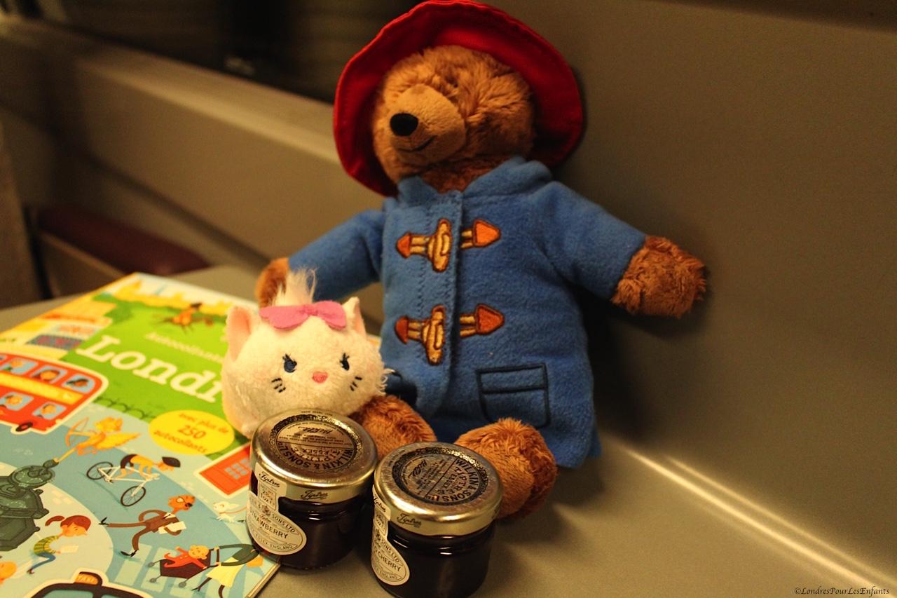 Paddington dans l'Eurostar