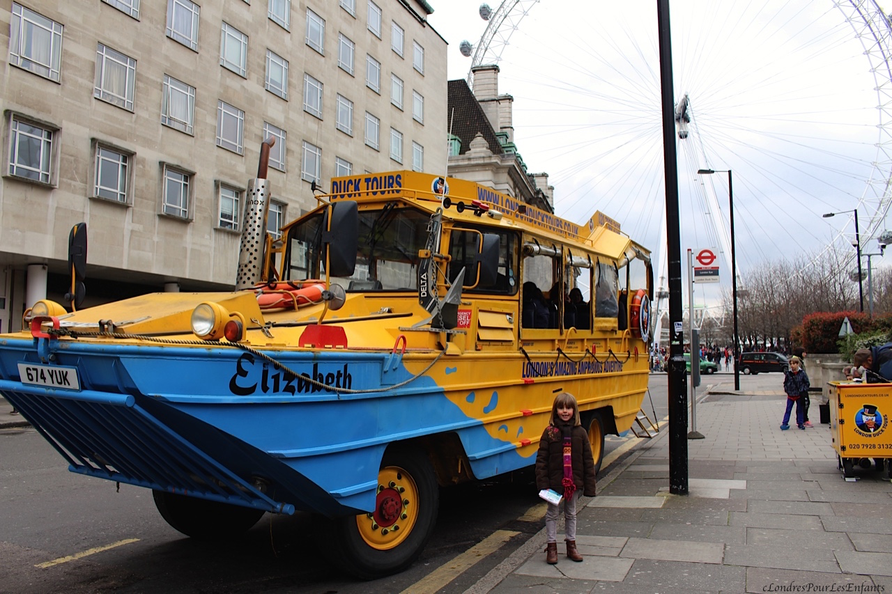 London Duck Tour - Londres Pour Les enfants