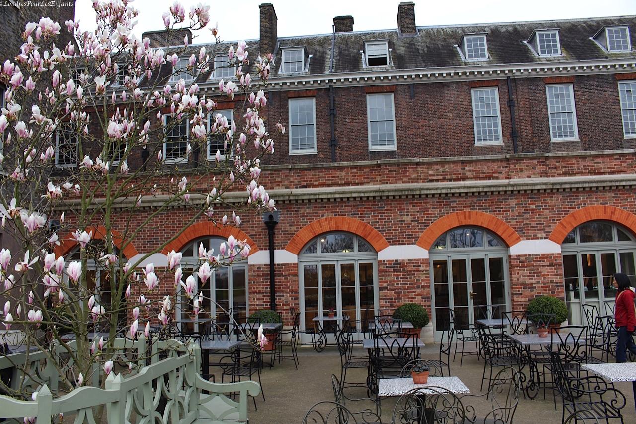 L'orangerie à Kensington Palace