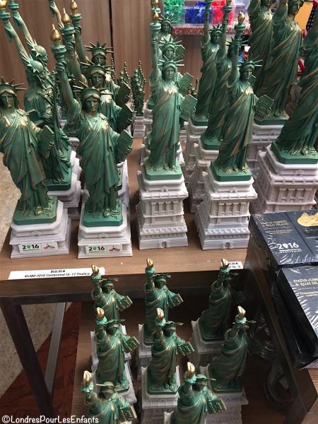 merchandising Statue de la Liberté