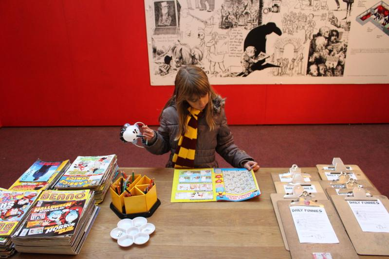 Le Cartoon Museum de Londres