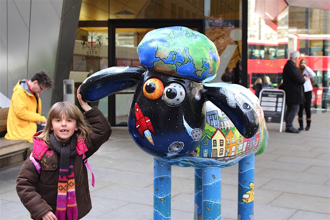 Shaun le mouton à Londres